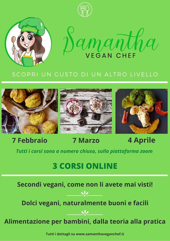 corsi cucina vegan online