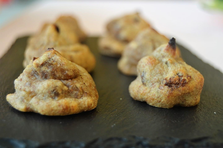 Biscotti – mini delizie banana e frutta secca