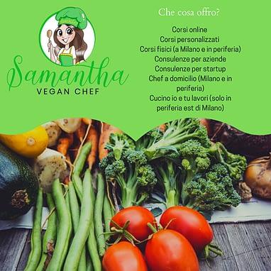 Corsi Di Cucina Chef A Domicilio Vegan Samantha Vegan Chef