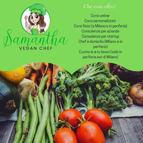 Corsi di cucina vegana, chef a domicilio vegan