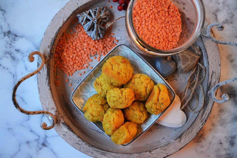 polpette di lenticchie rosse